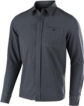 Troy Lee Designs Grind Plaid Flannel Long Sleeve Shirt