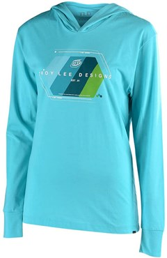 Troy Lee Designs Womens Technical Fade Pullover Hoodie