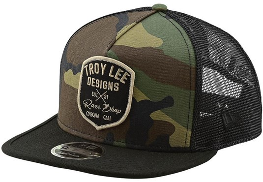 Troy Lee Designs Vintage Race Shop Snapback Hat