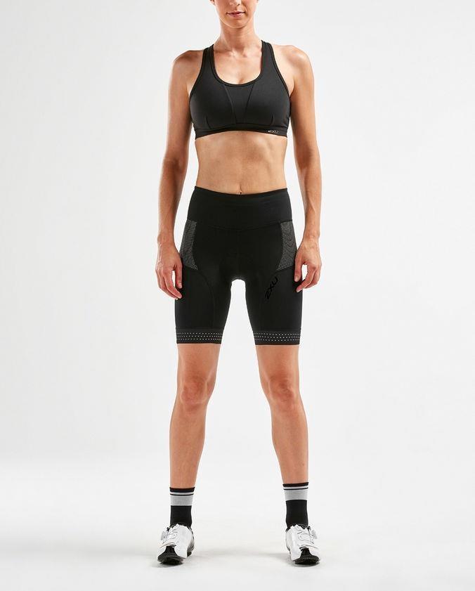 2XU Steel X Comp Womens Cycle Shorts | Trousers