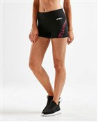 "2XU XCTRL Print Splice 3"" Womens Shorts"