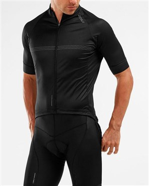2XU Wind Defence Short Sleeve Cycle Jersey