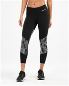Product image for 2XU Fitness Mid ColBlock 7/8 Womens Tights