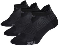 2XU 3 Pack Ankle Socks