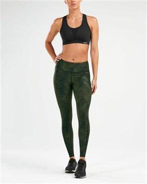2xu print mid-rise comp womens tights