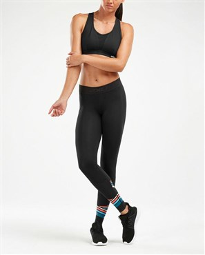 2xu accelerate comp womens tights with storage