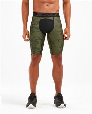 2XU Print Accelerate Comp Shorts