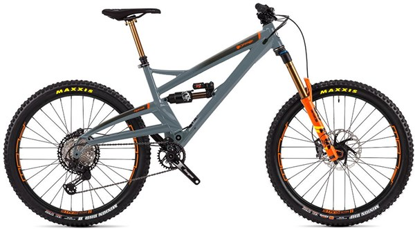 "Orange Alpine 6 Factory 27.5"" Mountain Bike 2020 - Enduro Full Suspension MTB"