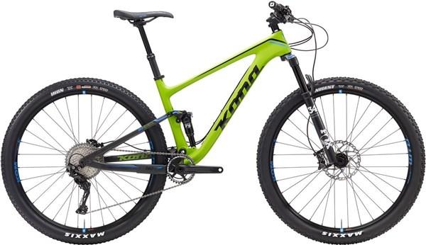 Kona Hei Hei Deluxe Carbon 29er - Nearly New - M 2017 - XC Full Suspension MTB Bike