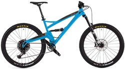 "Orange Five Pro 27.5"" Mountain Bike 2020 - Trail Full Suspension MTB"