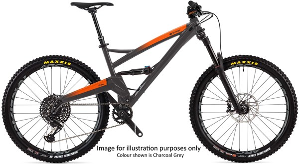 "Orange Five RS 27.5"" Mountain Bike 2020 - Trail Full Suspension MTB 