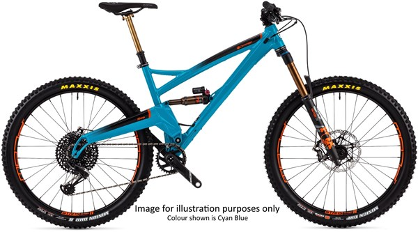 "Orange Five Factory 27.5"" Mountain Bike 2020 - Trail Full Suspension MTB 