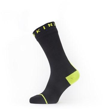 Sealskinz Waterproof All Weather Mid Length Socks with Hydrostop