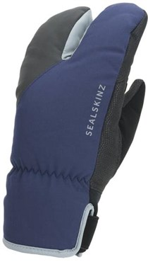 Sealskinz Waterproof Extreme Cold Weather Cycle Split Finger Gloves