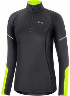 Gore Mid Zip Womens Long Sleeve Jersey