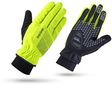 Product image for GripGrab Ride Hi-Viz Windproof Long Finger Gloves