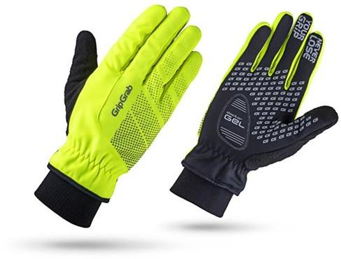 GripGrab Ride Hi-Viz Windproof Long Finger Gloves