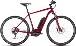 Product image for Cube Cross Hybrid Pro 400 - Nearly New - 54cm 2018 - Electric Hybrid Bike