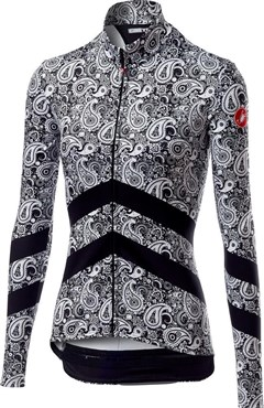Castelli Goccia Zip Womens Long Sleeve Jersey
