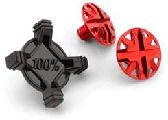 100% Aircraft Visor Screw Kit