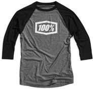 100% Essential 3/4 Sleeve Tech Tee