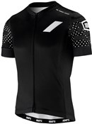 Product image for 100% Exceeda Full Zip Short Sleeve Jersey