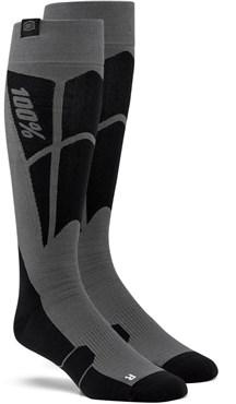 100% Hi Side Performance Moto Socks
