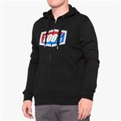 100% Official Zip Hooded Sweatshirt
