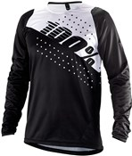 Product image for 100% R-Core Youth Long Sleeve Jersey