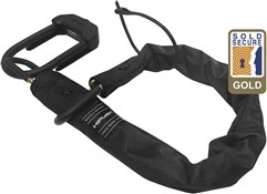 HipLok E-DX Chain & U-lock Combo