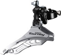 Product image for Shimano FD-TY300 Tourney 6/7 Speed Triple Front Derailleur