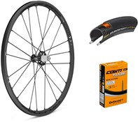 Product image for Fulcrum Racing Zero Nite Carbon Wheelset with Tyres and Tubes