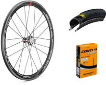 Fulcrum Speed 40C 700c Wheelset with Tyres and Tubes