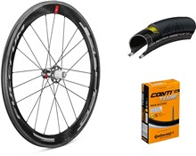 Fulcrum Speed 55C 700c Wheelset with Tyres and Tubes