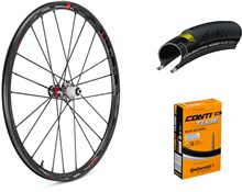 Product image for Fulcrum Racing Zero Carbon Disc 700c Wheelset with Tyres and Tubes