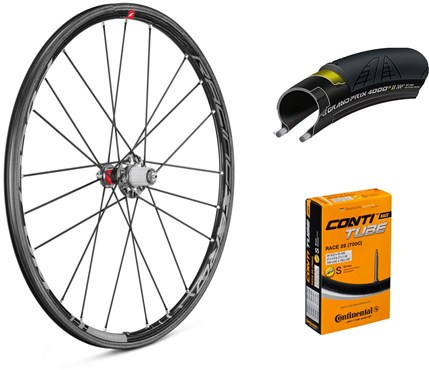 Fulcrum Racing Zero Carbon 700c Wheelset with Tyres and Tubes
