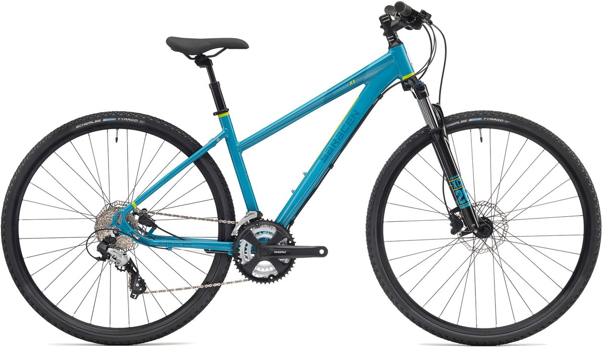 Saracen Urban Cross 1 Womens 2019 - Hybrid Sports Bike | City