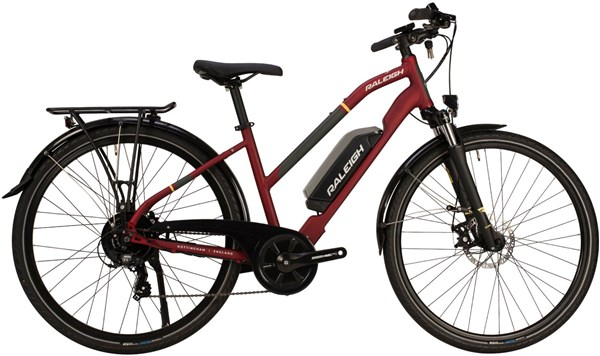 Raleigh Array Derailleur Open 2020 - Electric Hybrid Bike