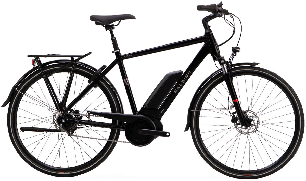 Raleigh Motus Grand Tour Hub Crossbar 2020 - Electric Hybrid Bike | City
