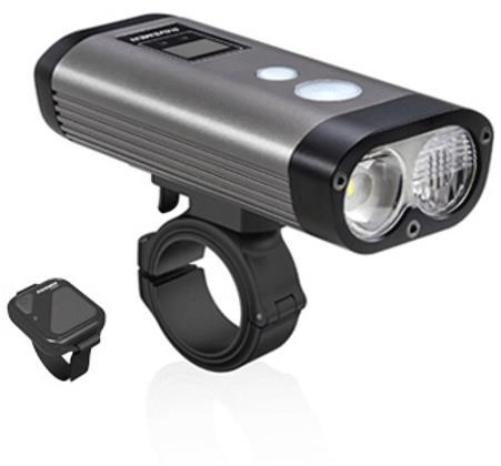 Ravemen PR1600 USB Rechargeable DuaLens Front Light with Remote | Front lights