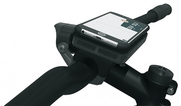 SKS Compit/E+ Smartphone Holder and Battery for E-Bikes