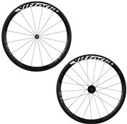 Product image for Vittoria Elusion Carbon 42 Clincher Disc Brake 700c Wheelset