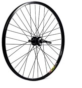 "Product image for M Part 26x1.75"" Alloy 6 Bolt Disc or Rim Brake QR Freewheel 135mm Rear Wheel"