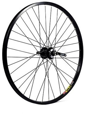 """M Part 26x1.75"""" Alloy 6 Bolt Disc or Rim Brake QR Freewheel 135mm Rear Wheel"""