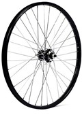 """M Part 24x1.75"""" Alloy 6 Bolt Disc or Rim Brake Solid Axle Front Wheel"""