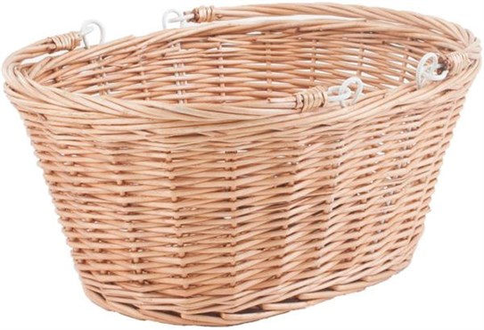 M Part Borough Oval Wicker Basket With Handles