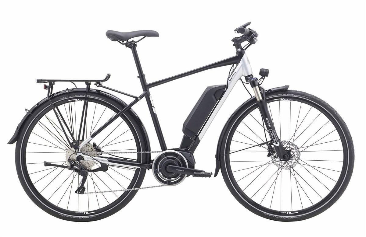 Marin San Rafael DS-E Deore 2019 - Electric Hybrid Bike | City-cykler
