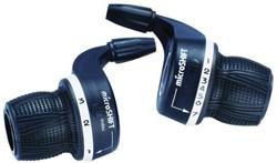 Microshift MS29-6 MTB Twist Shifters 6 Speed