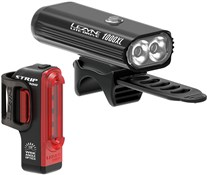 Product image for Lezyne Lite Drive 1000XL/Strip Pro Light Set