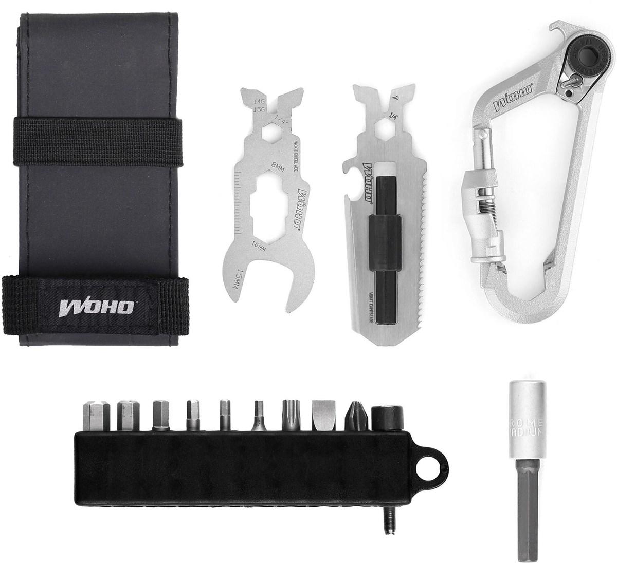 WOHO WOKit Plus Bikepacking Kit Carabiner Multi Tool | Værktøj